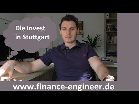 Die INVEST   Messe für Privatanleger und Investoren