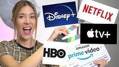 Netflix vs Amazon Prime vs Apple TV Plus vs Disney Plus vs HBO 🍿¿Cuál es MEJOR en 2020?