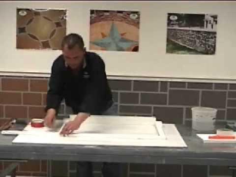 Decorative Concrete Countertop Forming