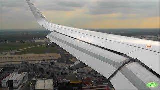 Lufthansa A320 w/ Sharklets Scenic Landing at Frankfurt Am Main!