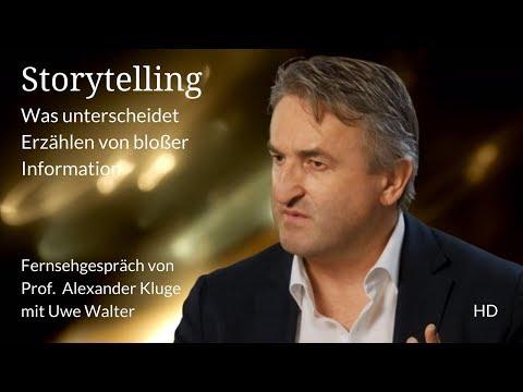 TV-Storytelling von Prof. Alexander Kluge mit Uwe Walter RTL/dctp (HD)