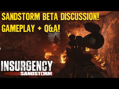 Weekly Wrap! Sandstorm Beta and Insurgency Went Free!