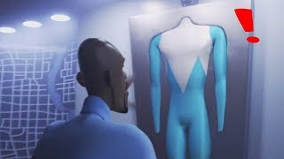 FROZONE FINALLY FOUND HIS SUPERSUIT