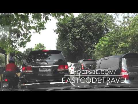 Taxi trip from Surabaya city to airport