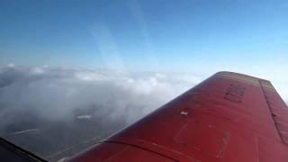 Полет в облаках