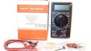 Обзор мультиметра DT838 ( Видео урок)