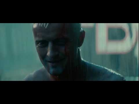 Blade Runner  Final scene, Tears in Rain Monologue HD