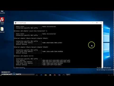 How to set ip address in windows 7 using command line