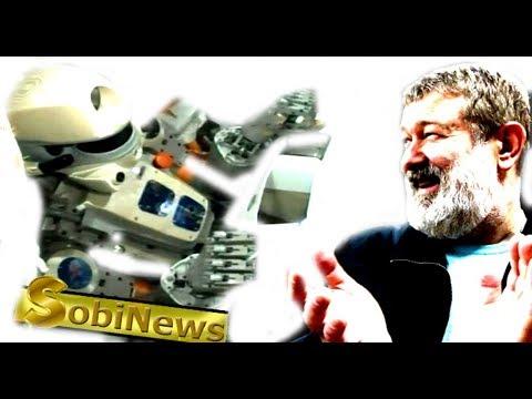 Мальцев: Почему робот Федор пролетел мимо МКС? Потому что Путин - вор. SobiNews