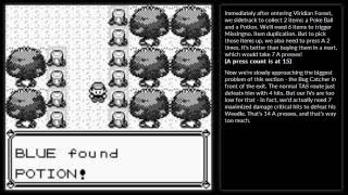 Pokémon Blue in 69 A presses