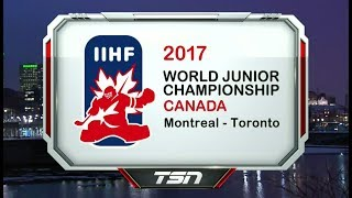 2017 IIHF World Junior Championship | SemiFinal | Russia vs USA