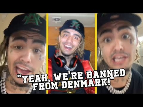 Lil Pump Reacts To Being Banned From Denmark After Arrest! Mp3