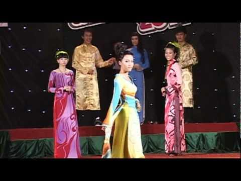 Festival LeHongPhong 2011- thoi trang ao dai