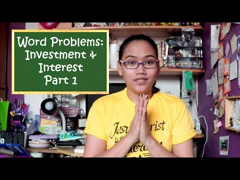 How To Solve Investment and Interest Rate Problems Part 1 - Civil Service Exam Review