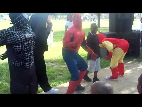 SPIDEY N BADMAN CLAP THEM THIGHS- NMB STUNTERS-ORGINAL VIDEO-