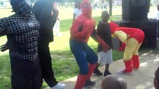 SPIDEY N BADMAN CLAP THEM THIGHS- NMB STUNTERS-ORGINAL VIDEO-