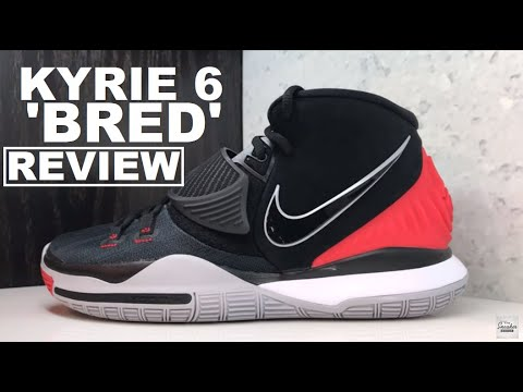 Nike Kyrie 6 Bred Black / Red Sneaker Detailed Review - WATCH BEFORE YOU BUY + Tribute to Cecelia