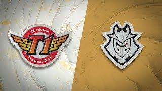 SKT vs G2 | Semifinal Game 4 | World Championship | SK Telecom T1 vs G2 Esports (2019)