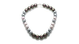 Majorica 14mm Manmade Organic Pearl Necklace