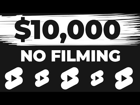 Make Money Online From YouTube Shorts NO ADSENSE (Without Making Videos)