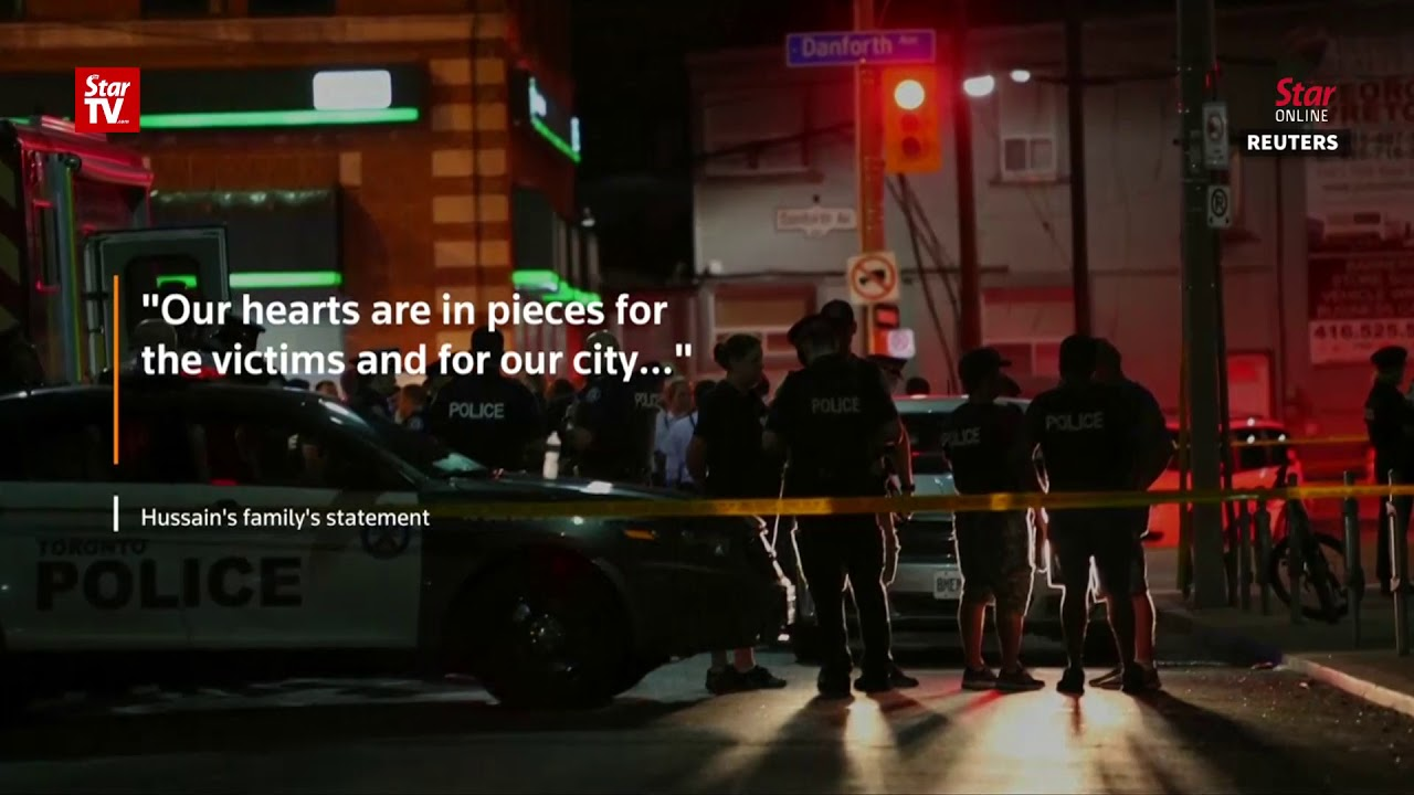 Toronto police name shooting suspect; family says he was ill
