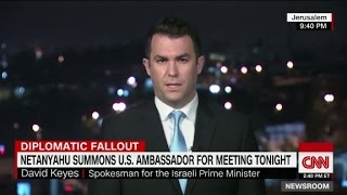 US-Israel diplomatic fallout after UN vote