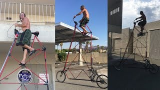 THE World tallest Bike