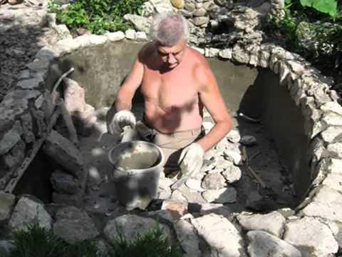 видео: Прудик во дворе. Наш прудик родился!!