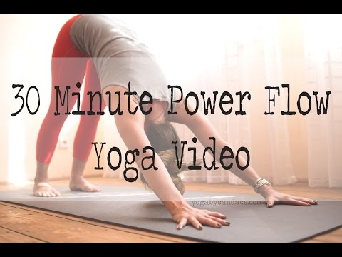 30 minute power yoga flow
