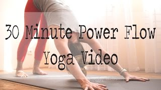 This is a 30 minute instructional power yoga flow best suited for t...