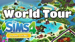 The Sims 4 Island Living Expansion Pack - Sulani World Overview and House Tours