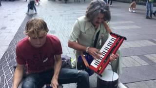 An impromptu visit from Mr Barry Morgan in Pitt Street! thumbnail