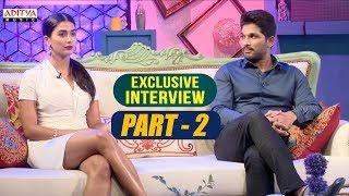 Exclusive Interview With Allu Arjun & Pooja Hegde | Part-02  | Aditya Music | DSP | Harish Shankar