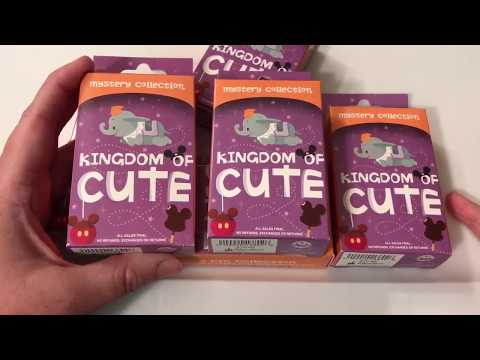 DISNEY KINGDOM OF CUTE MYSTERY PIN UNBOXING! PART ONE