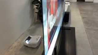 """100"""" Ultrashort Rear Projection Screen"""