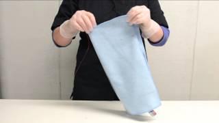 Pyyhkeen taittelu