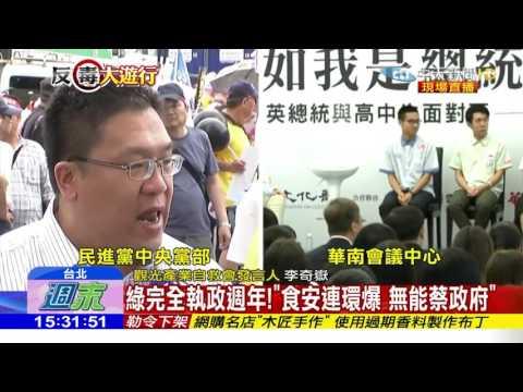 李奇嶽於20170513國民黨大遊行發表