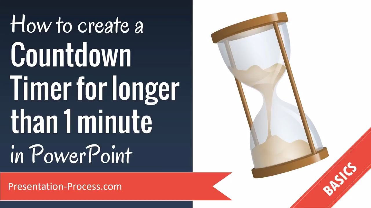 how to create a countdown timer for longer than 1 minute