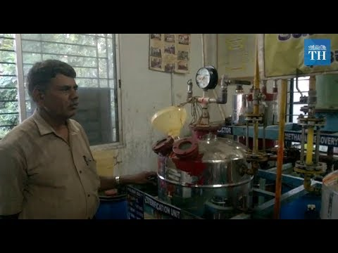 Making biodiesel from used cooking oil