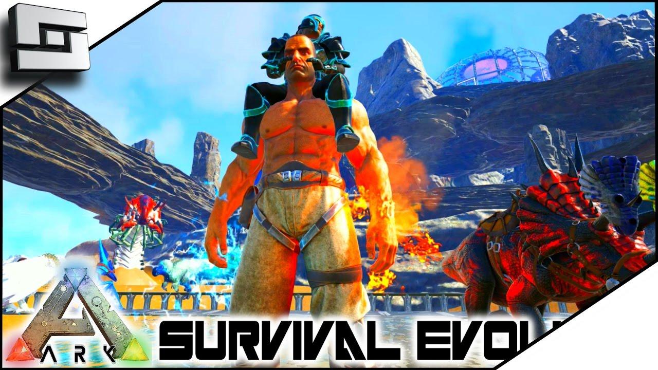 ARK: Survival Evolved - TAMING BOSSES/MISTERFISTER! E23 ( Modded Ark w/  Pugnacia Dinos )