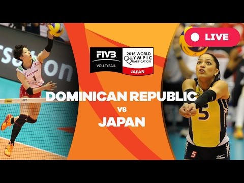 Dominican Republic v Japan - 2016 Women's World Olympic Qualification Tournament