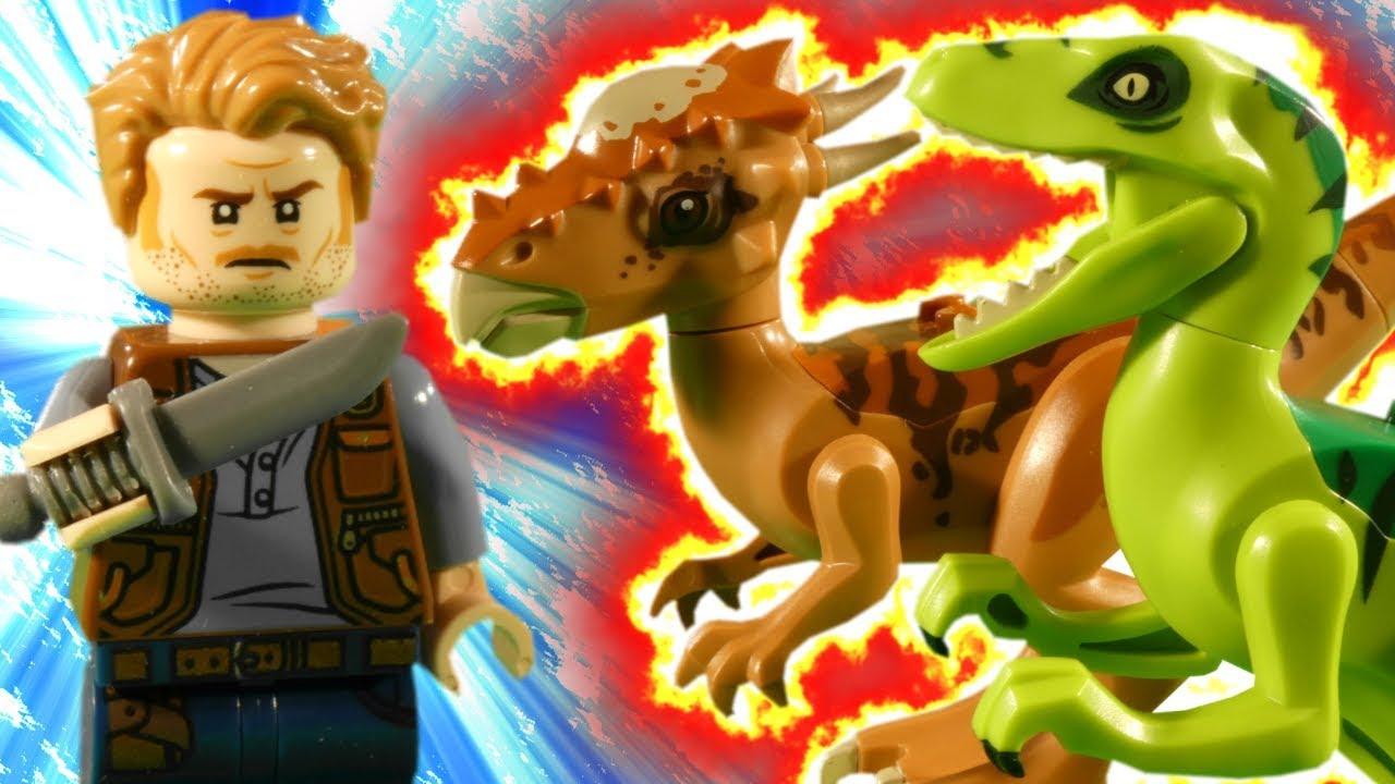LEGO JURASSIC WORLD FALLEN KINGDOM - DINO RAMPAGE - STOP MOTION