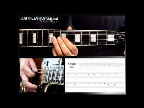 [ IRON MAIDEN - Fear of the dark ] How to play part 2/2 [ free guitar lesson ] with tabs
