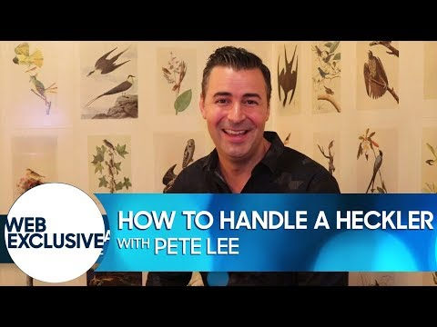 Download Youtube: How to Handle a Heckler: Pete Lee