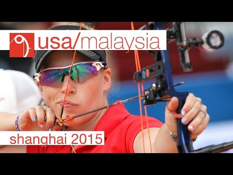 USA v Malaysia – Compound Women's Team Gold Final | Shanghai 2015