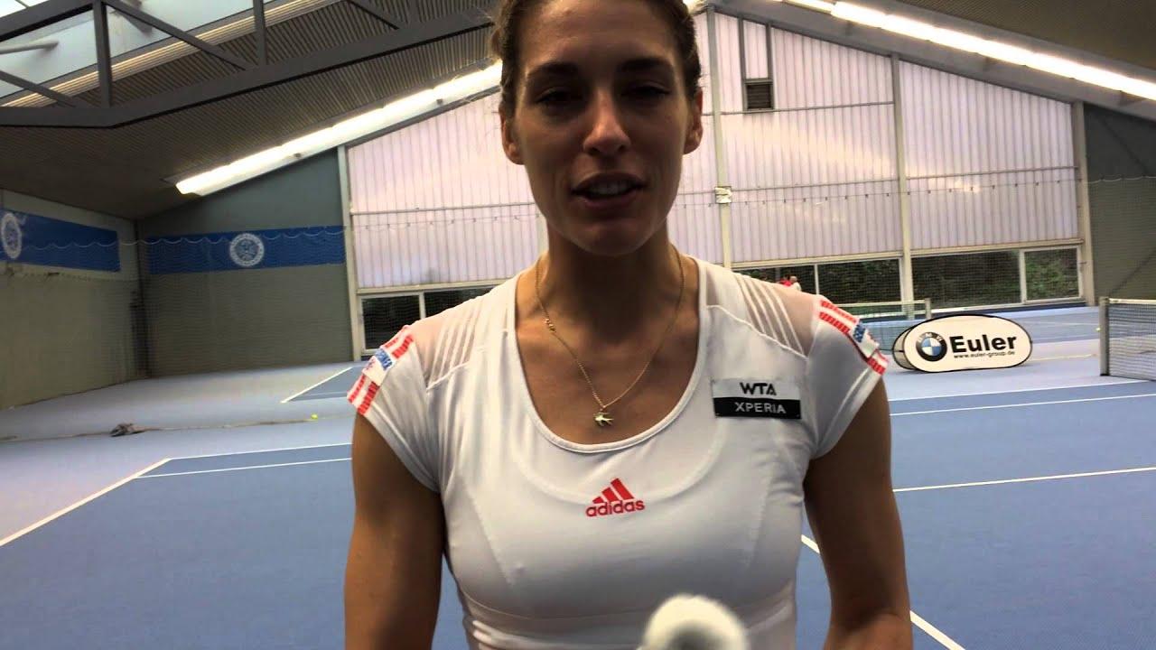 Videogruß von Andrea Petkovic