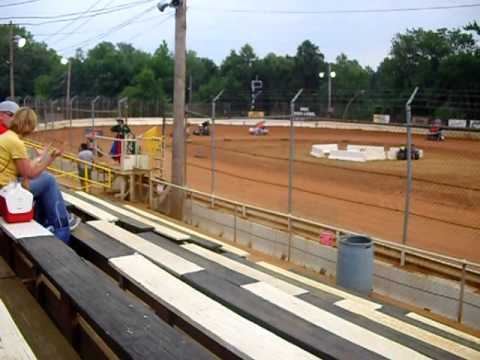 Micro Sprint Car Race at Airport Speedway