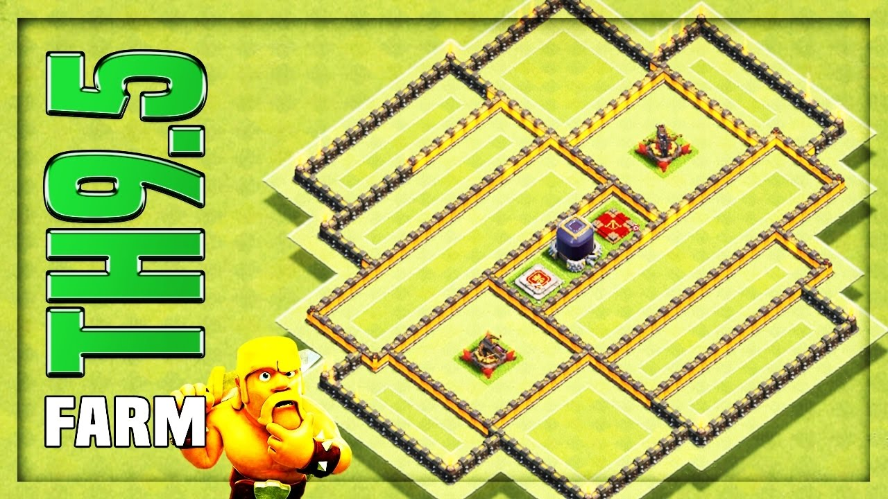 Th  Farming Base   F F  B Hybrid Base  F F  B Clash Of Clans