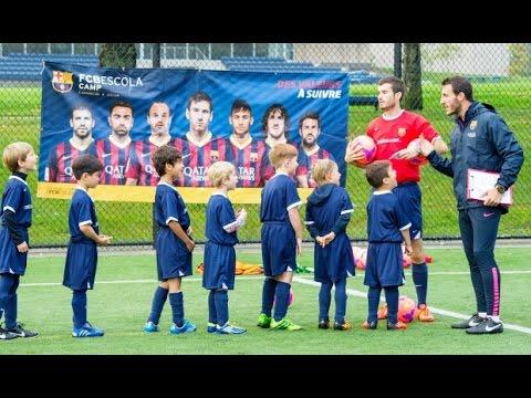 197a54c4ff Barcelona futebol escolinha - YouTube