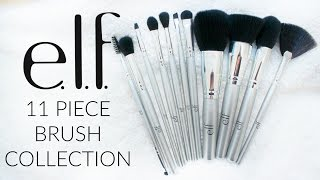 ELF COSMETICS 11 PIECE BRUSH COLLECTION | PURCHASE OR PASS?